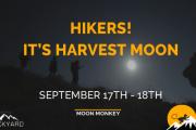 Hikers! It's Harvest moon