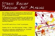 Stress Relief through Art Making Workshop
