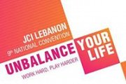 Unbalance Your Life | JCI Lebanon 9th National Convention