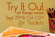 Try It Out- art therapy session for teachers