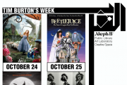Tim Burton's halloween week movie nights