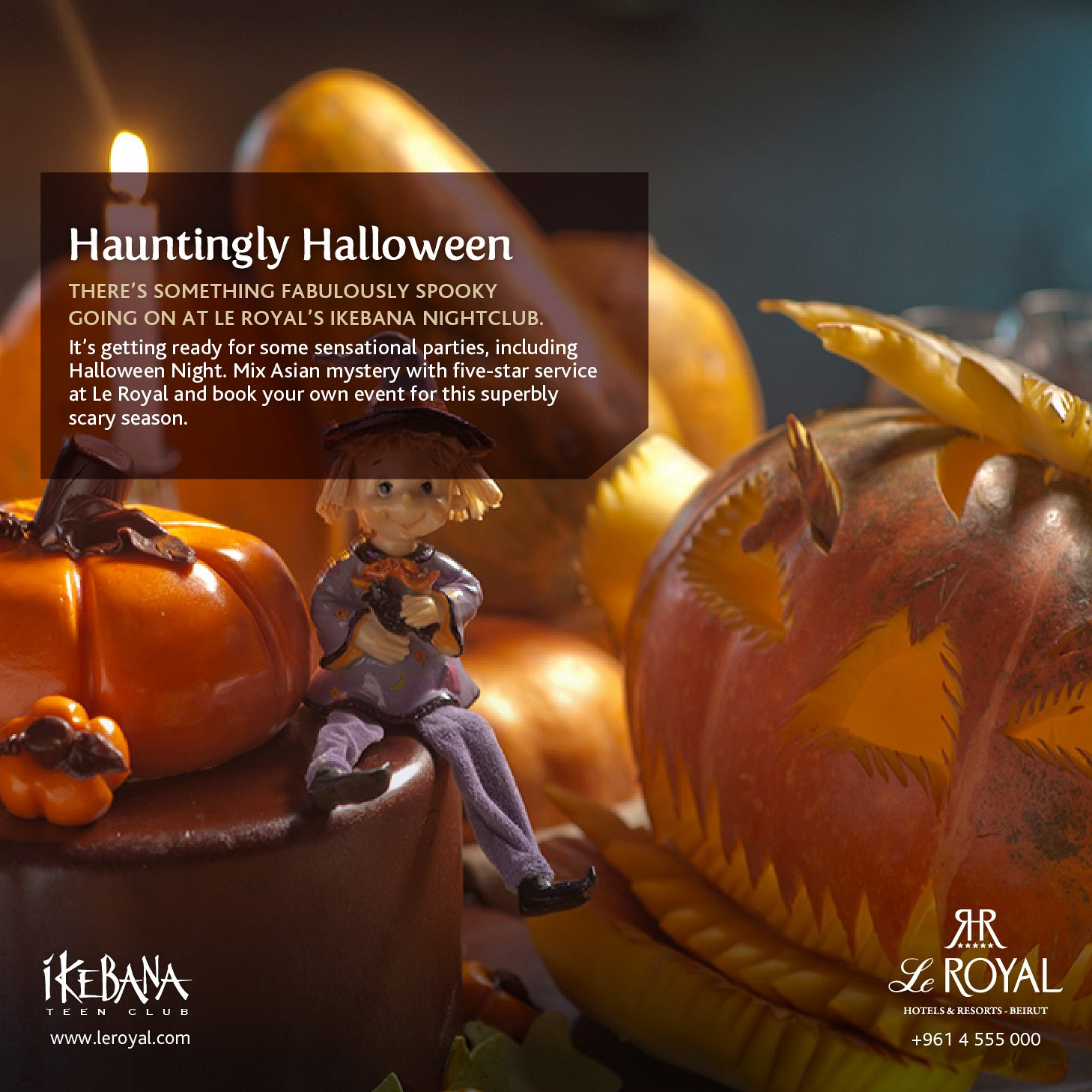 hauntingly halloween at royal hotel lebtivity