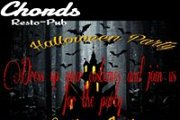 Halloween party at Chords