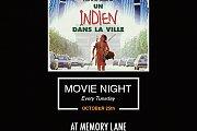 Movie Night at Memory Lane - Un Indien dans la Ville