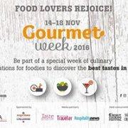Gourmet Week 2016