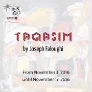 Taqasim | Solo Exhibition by Joseph Faloughi