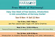 Free Empowering & Fun Week at Harmony!