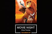Movie Night at Memory Lane - The Lion King