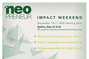 Neopreneur Impact Weekend