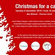 Christmas for a cause at Mar Mikhael