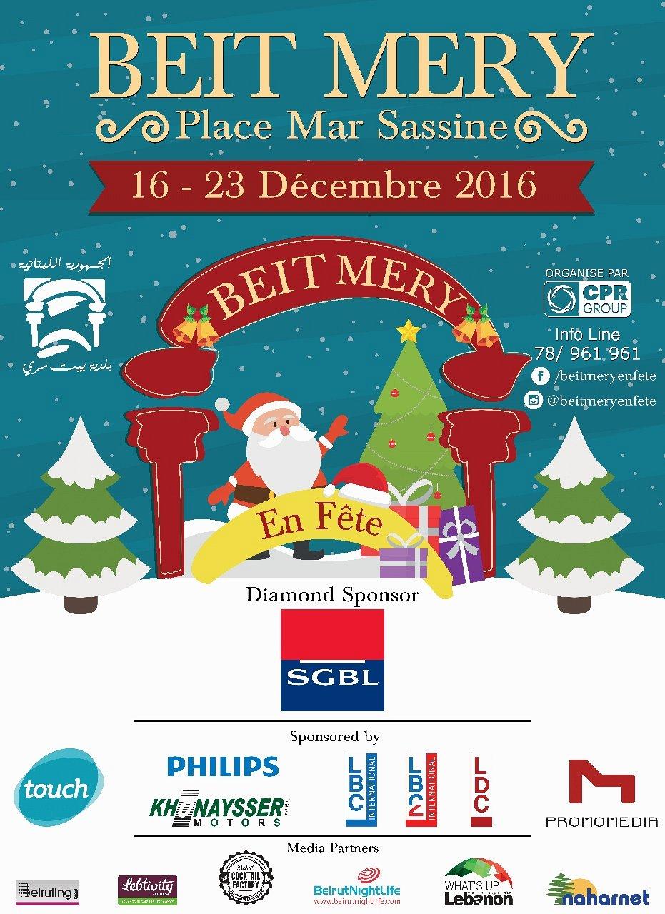 Beit Mery en Fête - Noël 2016 « Lebtivity