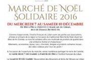 Marché de Noël solidaire 2016
