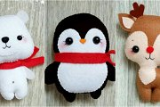 Sew Your Winter Buddies Softies