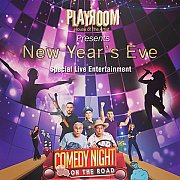 NYE 2017 at Playroom with Comedy Night Show