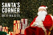 Santa's corner at The Village Dbayeh