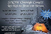 Snow overnight camp