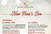 New Year's Eve at the Regency Palace Hotel