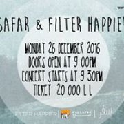 Safar and Filter Happier LIVE at Metro