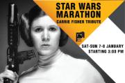 Star Wars Marathon   Carrie Fisher Tribute