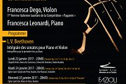 Integral Sonatas of L.V. Beethonven for the 1st Time in Lebanon