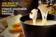 Fondue & Raclette at L'Auberge Des Bois