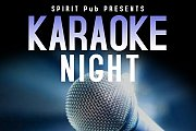Karaoke night at Spirit Pub