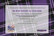 Burns Night & Ceilidh - Scottish Night