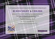 Burns Night & Ceilidh - Scottish Night