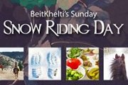 Snow Riding Sunday with BeitKhelti