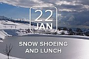 Snow Shoeing and lunch with Soft Hike & Hosting Table