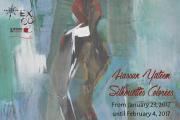 Silhouettes Colorées | Solo Exhibition by Hassan Yateem