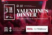 Valentine's Dinner at Al Murjan Palace Hotel