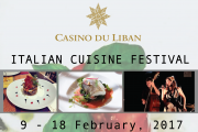 Italian Cuisine Festival at Casino Du Liban