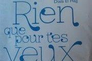 """Signature du livre """" RIEN QUE POUR TES YEUX"""" de Diala El-Hajj"""