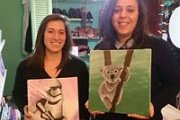 Paint and Drink Night