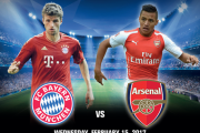 Bayern Munich vs. Arsenal at DRAY