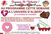 Valentine Activity at L'Univers d'Albert