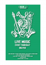 Main Street Dbayeh Goes Live Every Thursday