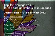 Popular Heritage Fair for the Foreign Embassies in Lebanon