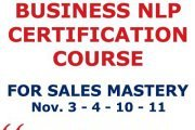Business NLP Certification Course for Sales Mastery