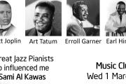 Karaz w Laimoon Music Club: 4 Jazz Pianists who Influenced Me