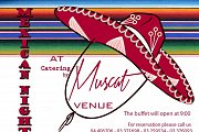 Mexican night at Catering by Muscat venue