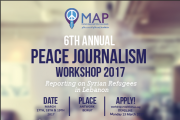 6th Annual Peace Journalism Workshop 2017