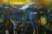 Vagrant in Time, Alireza Jahromi's solo exhibition
