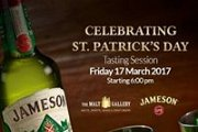 St. Patrick's Day - Jameson tasting session
