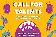 Call for Talents | AUB Outdoors 2017