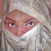 """Exhibition """"Le Rouge en Noir"""" - Nizar Othman"""
