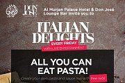 Pasta Night at Al Murjan Palace Hotel
