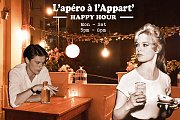 Happy hour at l'appartement