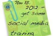Social Media for Social Clubs - Come, Enjoy & Learn